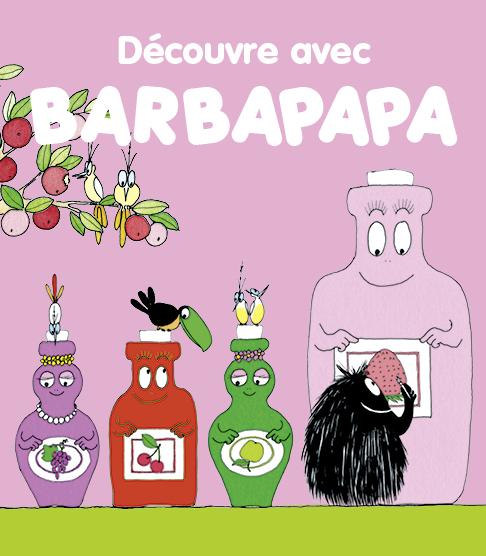 Découvre avec Barbapapa