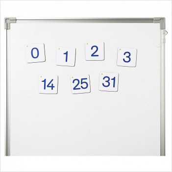 Nombres magnétiques - Grand format