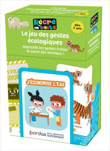 Récré en boîte - Le jeu des gestes écologiques : apprends les gestes écolos et sauve des animaux - dès 7 ans
