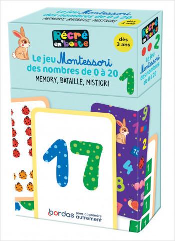Récré en boîte - Le jeu Montessori des nombres de 0 à 20