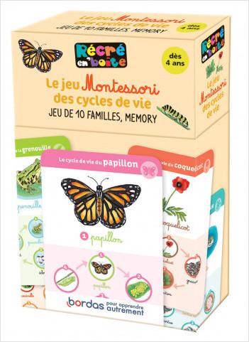 Récré en boîte - Le jeu Montessori des cycles de vie - dès 4 ans