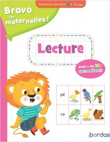 Bravo les maternelles - Lecture Moyenne section + autocollants - dès 4 ans