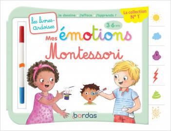Les livres-ardoises - Mes émotions Montessori