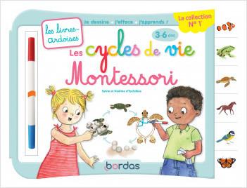 Livres-ardoises Montessori – Les cycles de vie – dès 3 ans