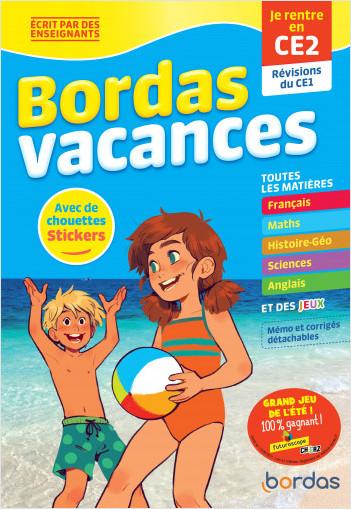 Bordas Vacances - Je rentre en CE2
