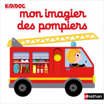 Mon imagier des pompiers - Livre animé Kididoc - Dès 1 an
