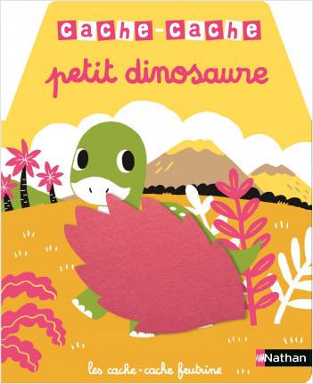 Cache cache petit dinosaure  - livre à toucher - dès 6 mois