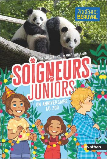 Soigneurs juniors - un anniversaire au zoo - tome 1 - dès 8 ans