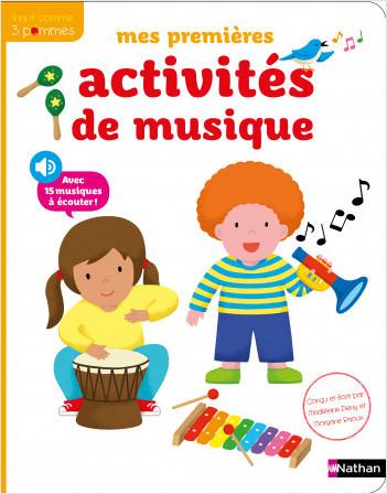Mes premières activités de musique - Dès 3 ans