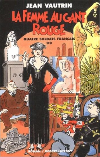 La femme au gant rouge - Quatre soldats français - T2