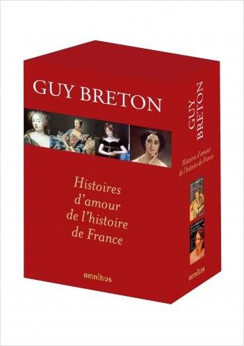 Coffret 2 vol. Histoires d'amour de l'Histoire de France