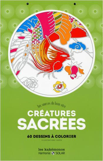 Créatures sacrées-kakémono