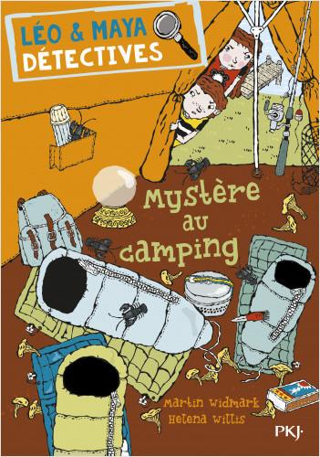 Léo et Maya, détectives - tome 04 : Mystère au camping
