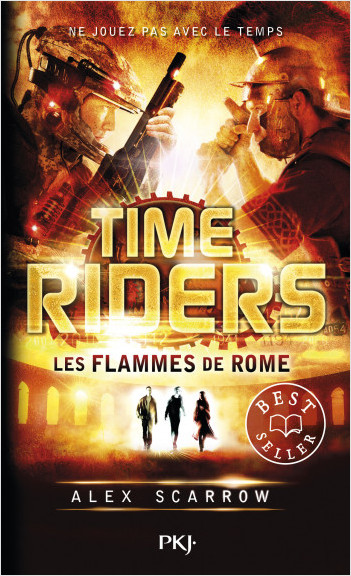 5. Time Riders : Les flammes de Rome
