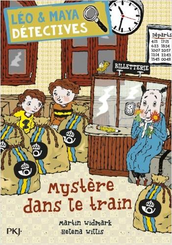 Léo et Maya, détectives - Tome 11 : Mystère dans le train.
