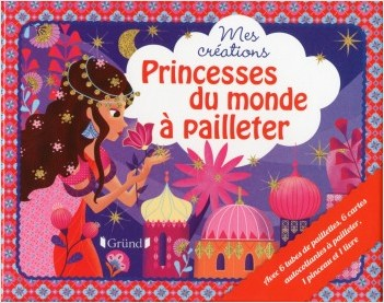 Coffret Princesses du monde à pailleter