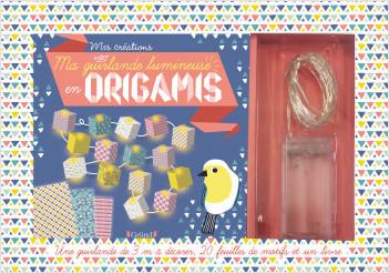 Ma guirlande lumineuse en origamis