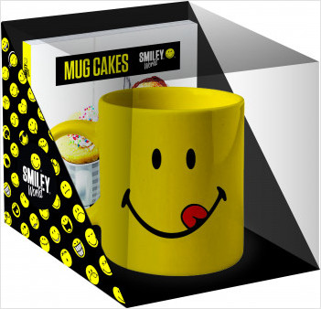 Coffret mug cakes Smiley