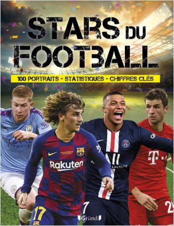 Stars du football – Album documentaire avec des statistiques – À partir de 8 ans