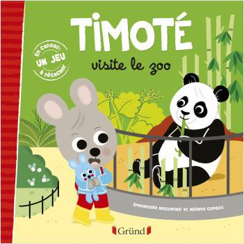 Timoté visite le zoo – Album jeunesse – À partir de 2 ans