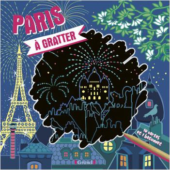 Paris à gratter – Pochette avec 10 cartes à gratter – À partir de 6 ans