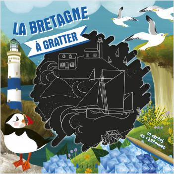 La Bretagne à gratter – Pochette avec 10 cartes à gratter – À partir de 6 ans