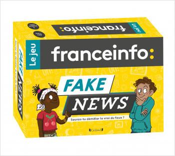 France Info, le jeu : Fake news – Jeu de 130 cartes jeunesse – À partir de 7 ans