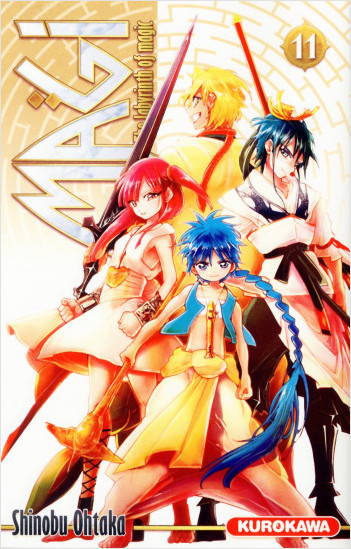 Magi - The Labyrinth of Magic - tome 11