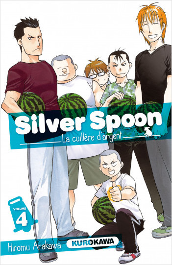 Silver Spoon - La cuillère d'argent - tome 04