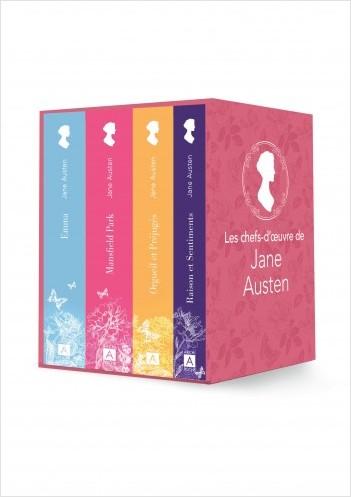 Les chefs-d'oeuvre de Jane Austen - Orgueil et préjugés, Emma, Manfield Park, Raison et sentiments