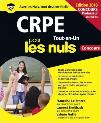 CRPE Tout-en-Un pour les Nuls Concours, édition 2018