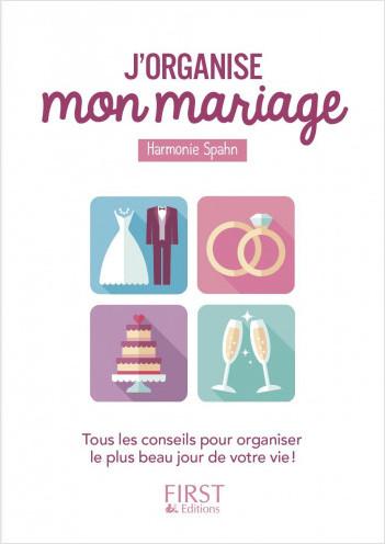Petit livre - J'organise mon mariage