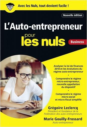L'Auto-entrepreneur pour les Nuls, poche, 3e édition