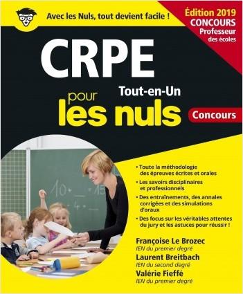 CRPE Tout-en-Un pour les Nuls Concours, édition 2019