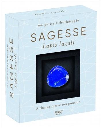 Ma petite lithothérapie - Sagesse - Lapis lazuli : une pierre + un livre