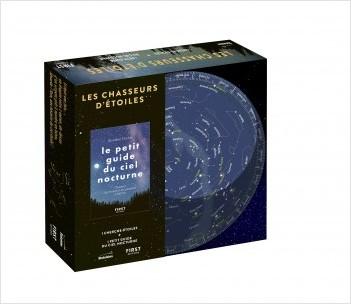 Coffret- Les Chasseurs d'étoiles - Petit guide d'observation du ciel nocturne + cherche-étoiles