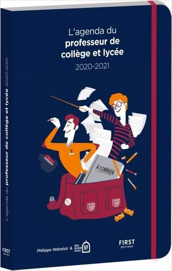 L'agenda du professeur de collège et lycée 2020-2021