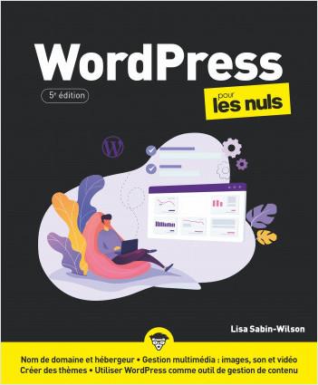 WordPress 5e édition pour les Nuls, mégapoche