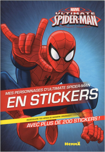 MARVEL - ULTIMATE SPIDER-MAN - MES PERSONNAGES D'ULTIMATE SPIDER-MAN EN STICKERS