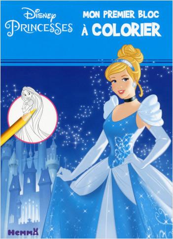 Disney Princesses - Mon premier bloc à colorier (Cendrillon)