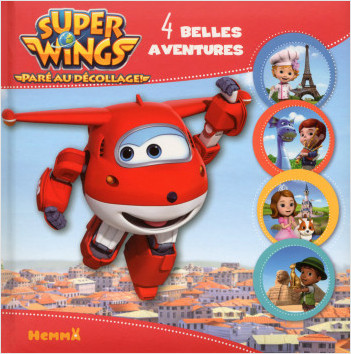 Super Wings - 4 belles aventures