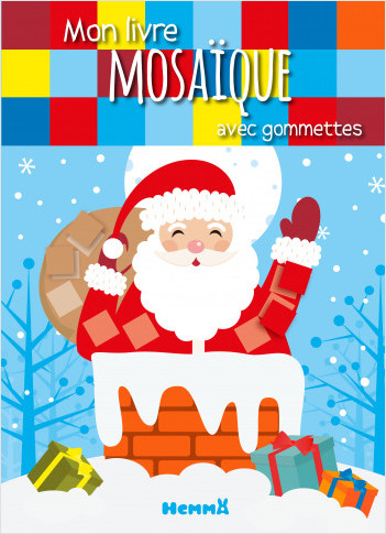 Mon livre mosaïque avec gommettes (Noël)