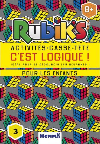 Rubik's - Activités + casse-tête - C'est logique !