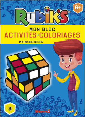Rubik's - Mon bloc activités + coloriages mathématiques