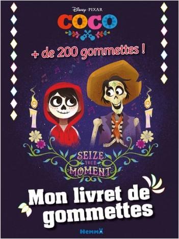 Disney Coco - Mon livret de gommettes