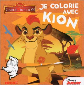 Disney La Garde du Roi Lion - Je colorie avec Kion