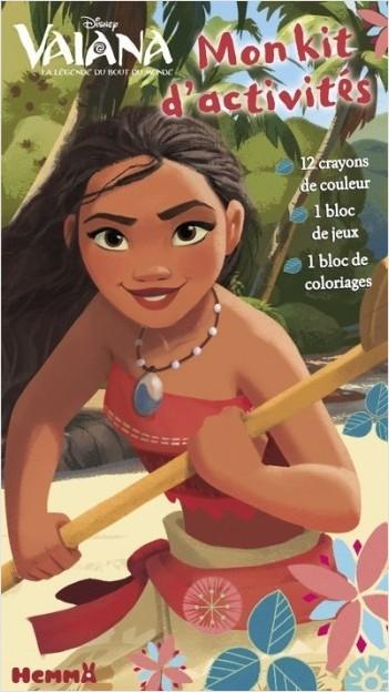 Disney Vaiana - Mon kit d'activités