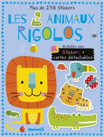 Les Animaux rigolos - Activités avec stickers + cartes détachables