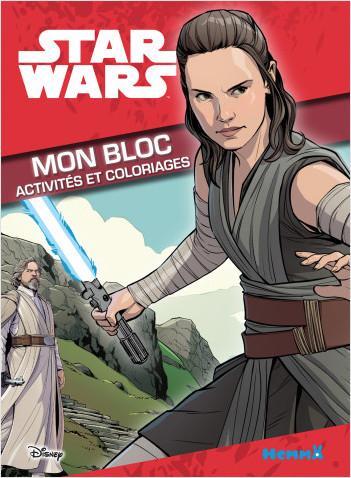 Disney Star Wars - Mon bloc - Activités et coloriages (Rey)
