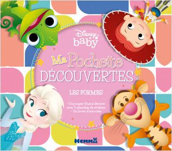 Disney Baby – Ma pochette découvertes – Les formes – Pochette d'activités avec des stickers – Dès 4 ans